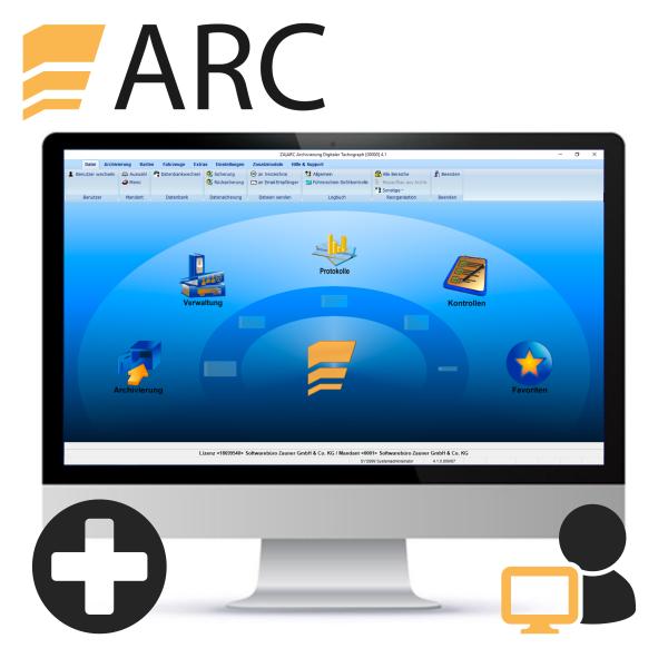 ARC Client für Server-/Mehrplatzlizenz
