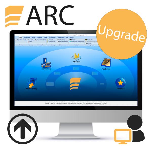 ARC Upgrade - Einzelplatz (für vorhandene Lizenz)