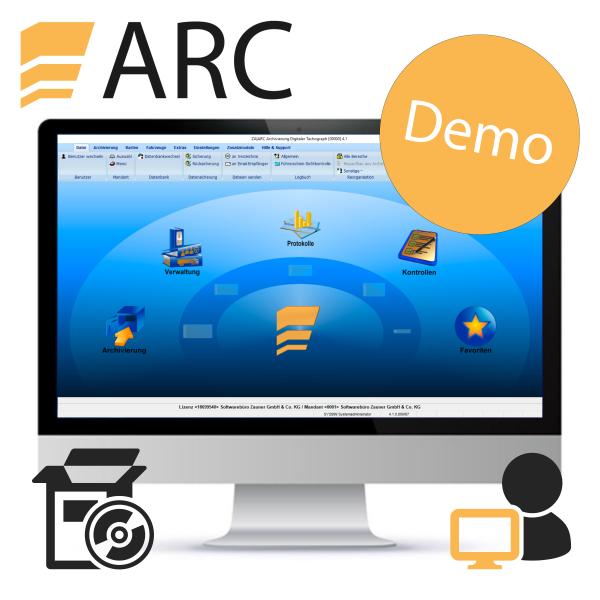 ARC Einzelplatzlizenz DEMO - Direktdownload