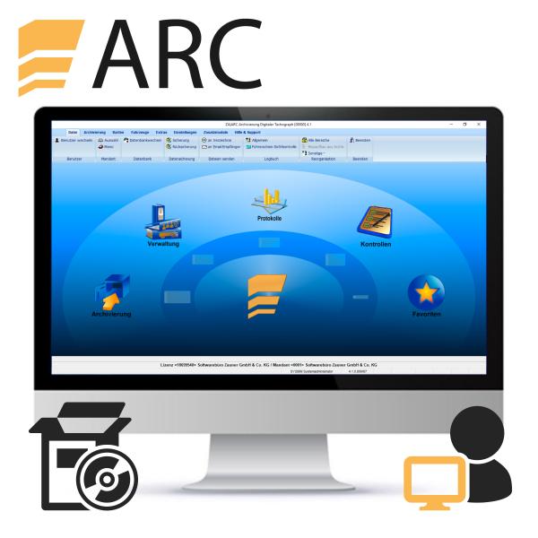 ARC Einzelplatzlizenz (Neulizenz)