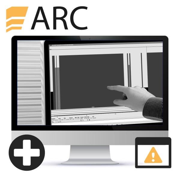 ARC EG-Fahrer-Verstoßauswertung (inkl. Standard Zeiterfassung)