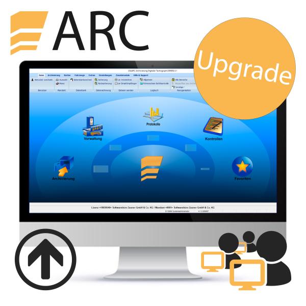 ARC Upgrade - Server-/ Mehrplatz (für vorhandene Lizenz)