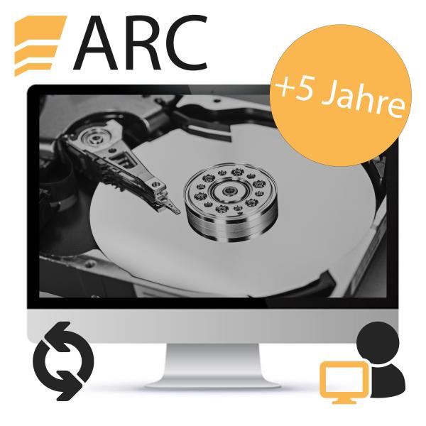 ARC Softwareupdate Einzelplatz - nach +5 Jahren