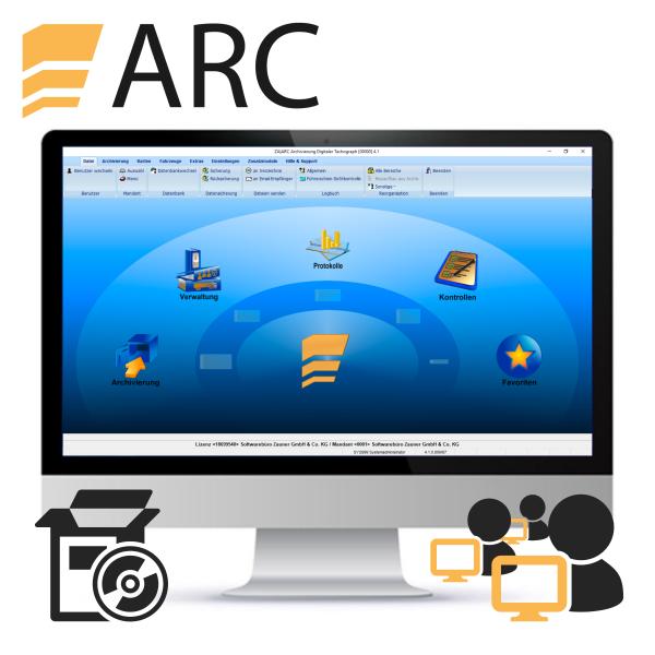 ARC Server-/Mehrplatzlizenz (Neulizenz)