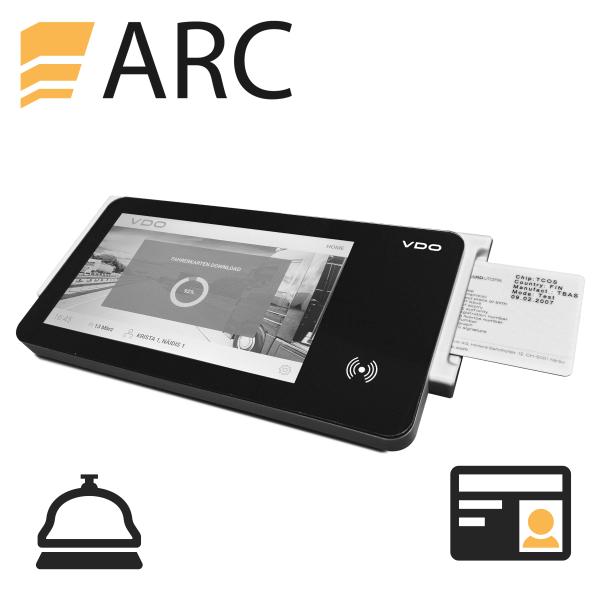 ARC Softwaremodul für Führerscheinsichtkontrolle