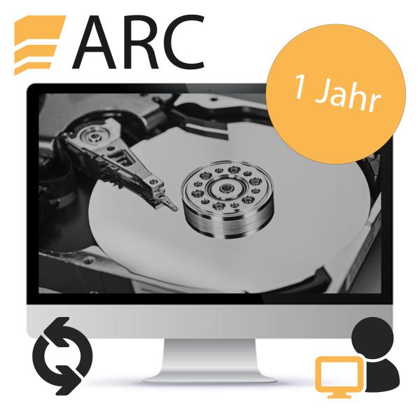 ARC Softwareupdate Einzelplatz - nach 1 Jahr